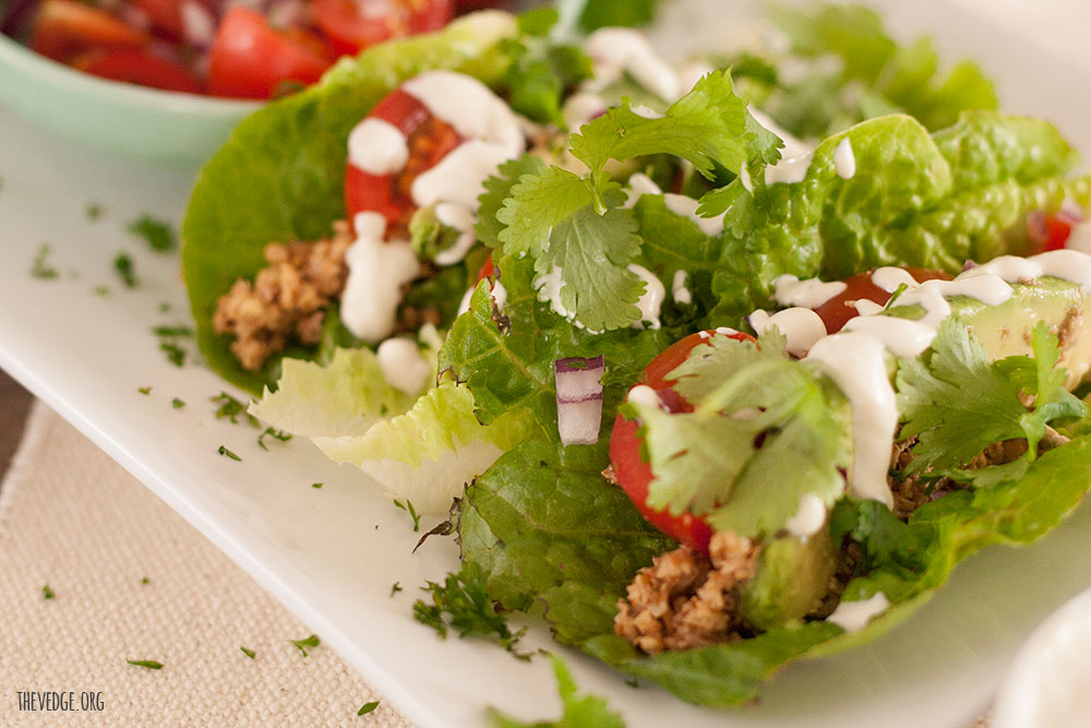 Raw Walnut Taco Meat