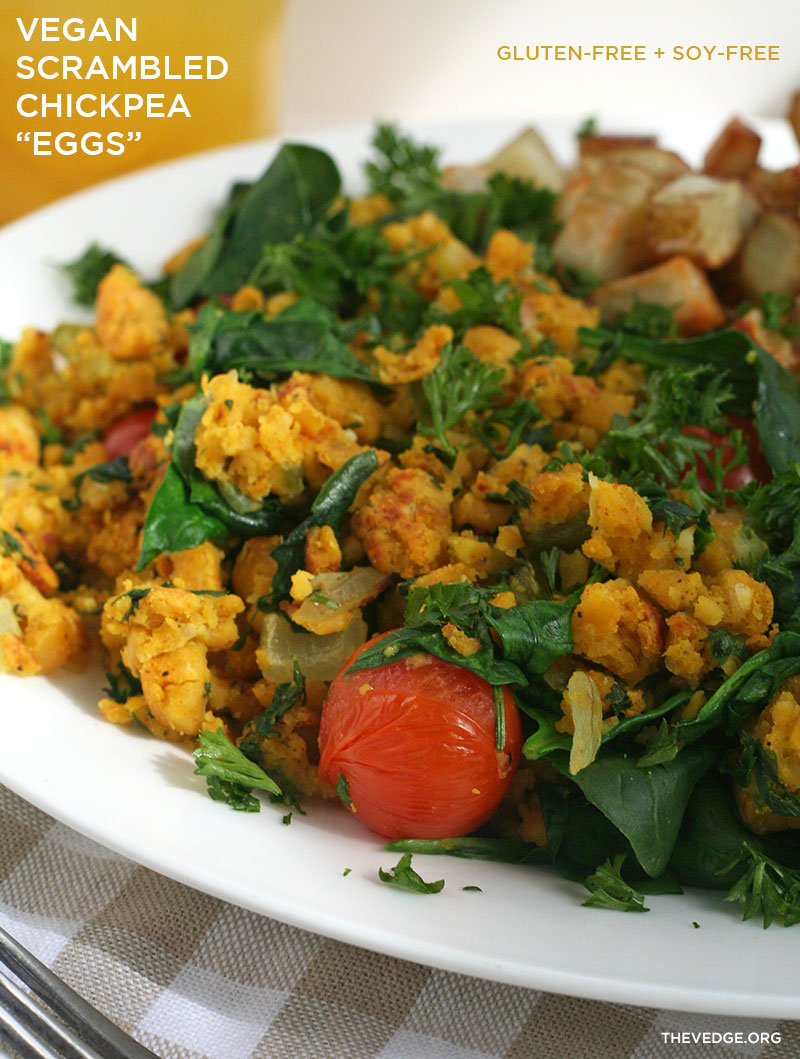 Vegan Scrambled Chickpea Eggs