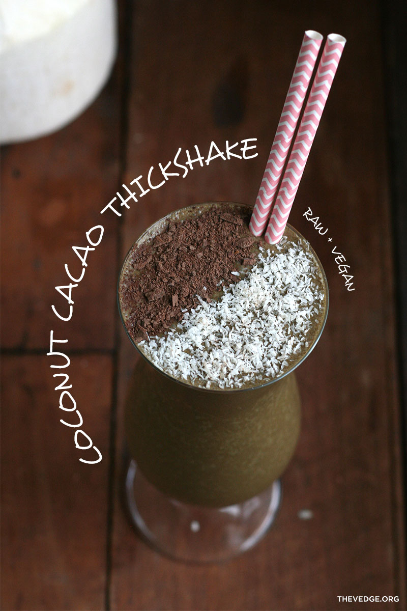 coconut thickshake
