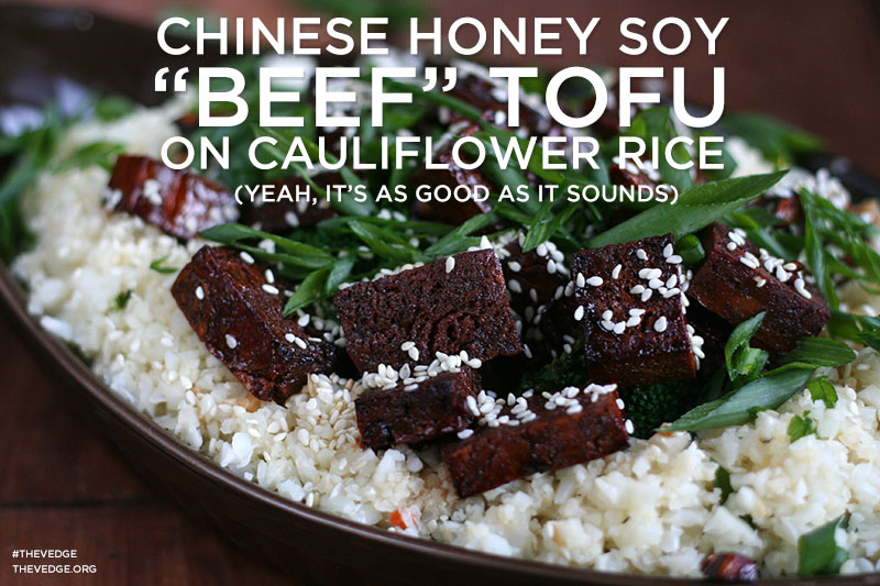 Chinese Honey Soy Tofu