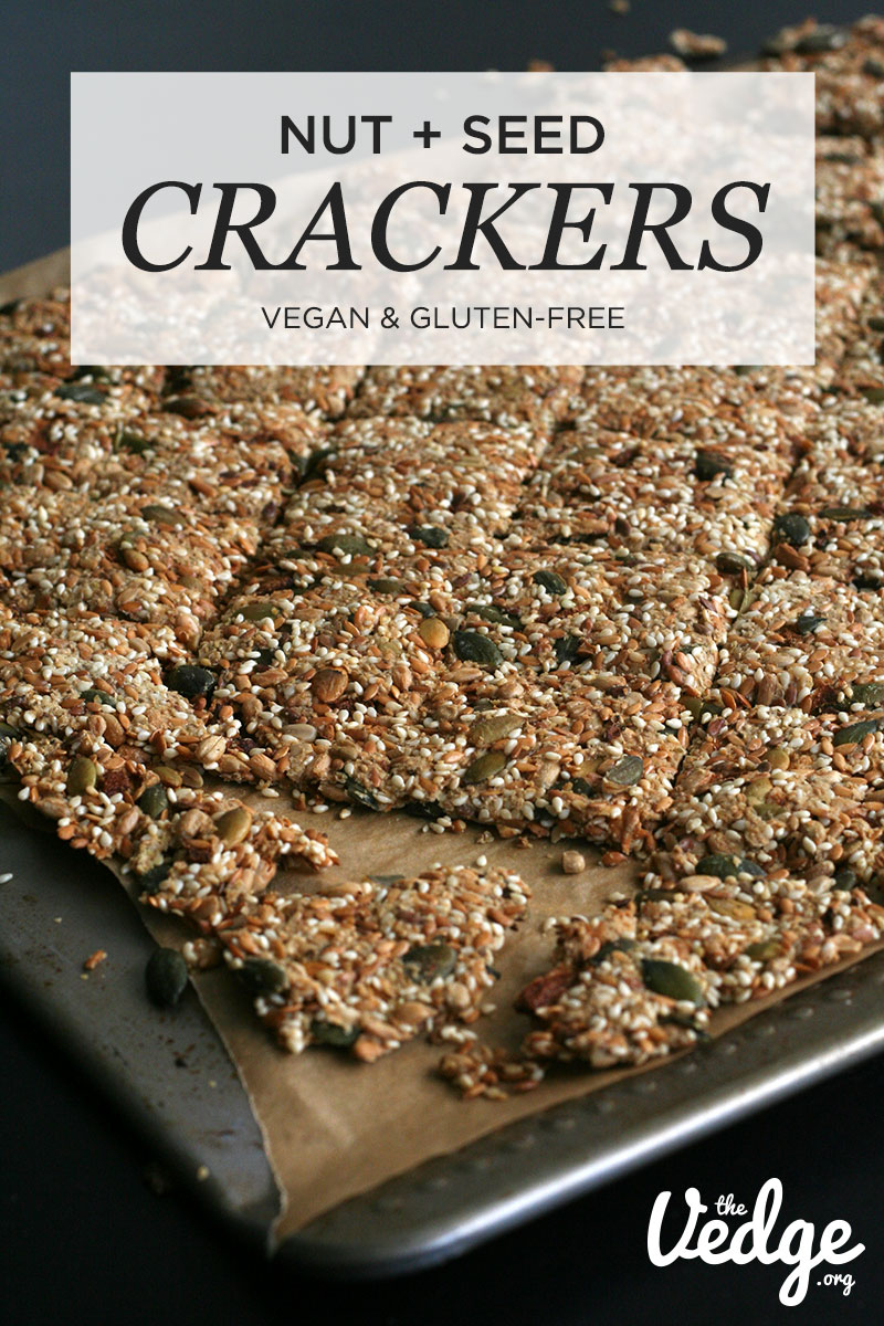 Nut Seed Crackers