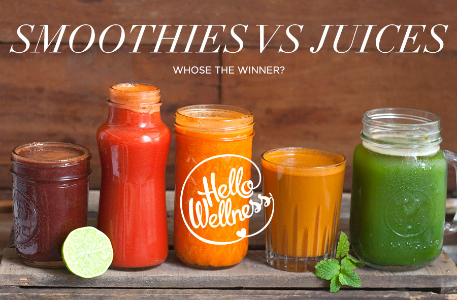 smoothies vs juice