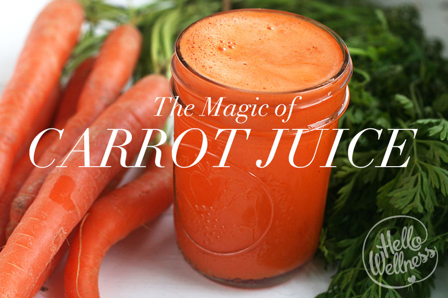 The Magic of Carrot Juice