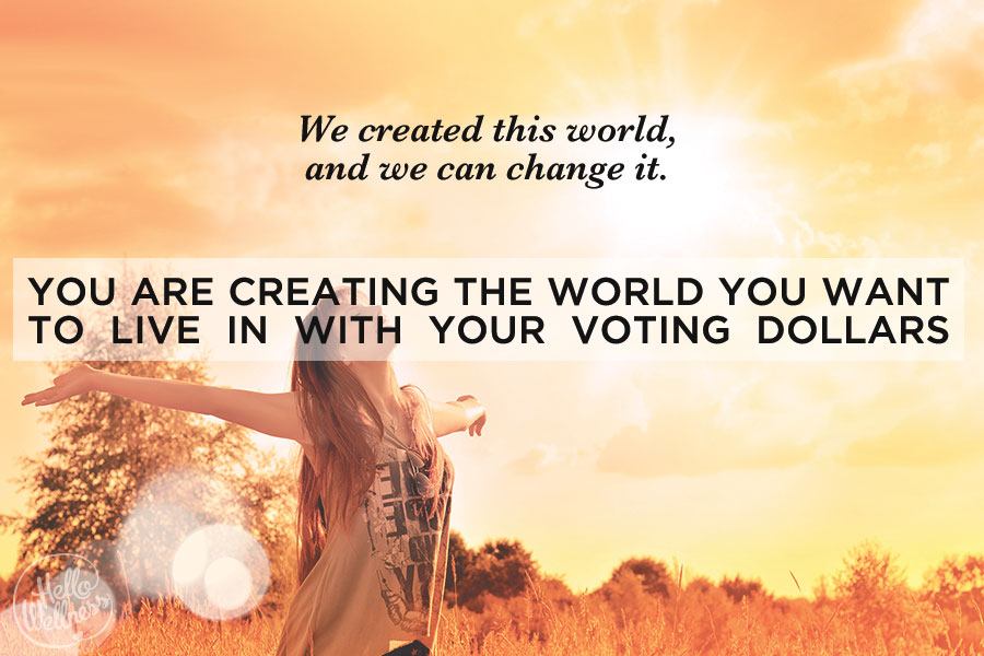 Creating World Voting Dollars