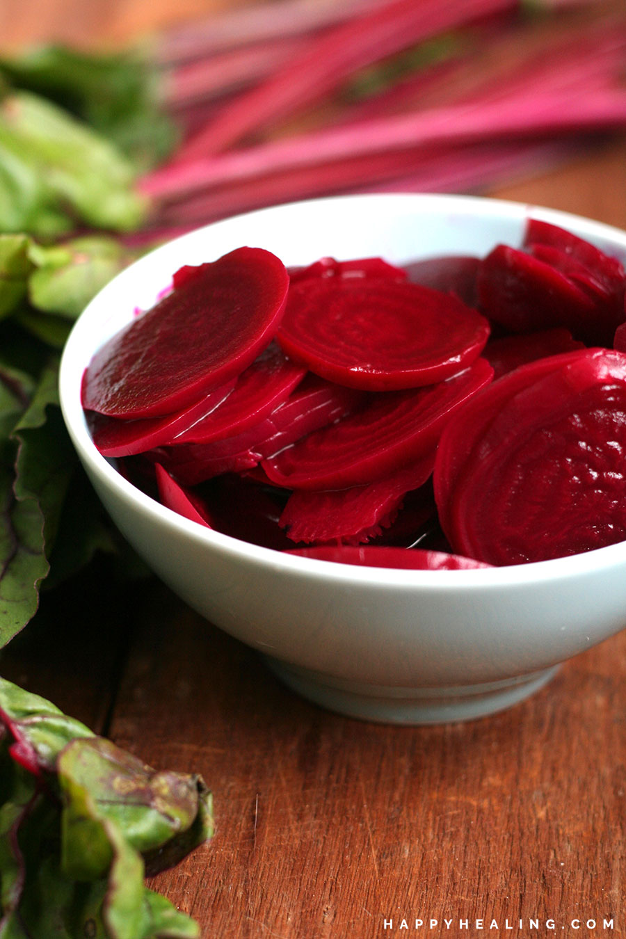 Vinegar Quick Pickled Beets